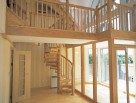 Wooden Spiral Staircases