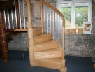Timber Spiral Staircases