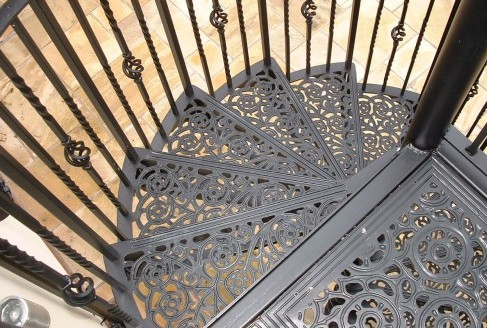 Cast Aluminium Spiral Staircases British Spirals Castings