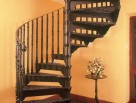 Victorian Spiral Staircase with Victorian Balusters