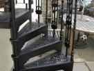 Victorian Spiral Staircase with Donoghue Infill Panel