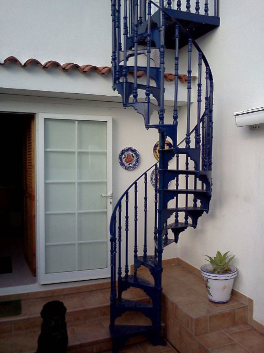 Staircase Regulations Uk >> Traditional Victorian Cast Spiral Staircases – British Spirals & Castings