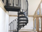 Victorian Spiral staircase with Plain Infills