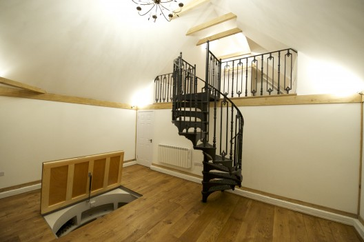 Traditional Victorian Cast Spiral Staircases British