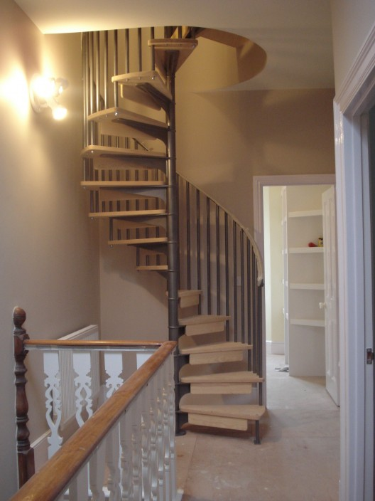 converted attic ideas - Metal Handrails – British Spirals & Castings