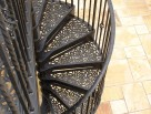 Traditional Victorian Spiral Stair Tread Pattern