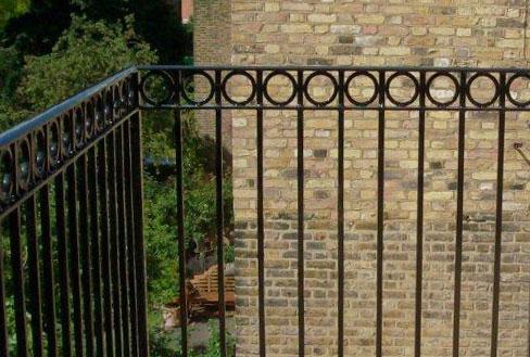 Cast Amp Wrought Iron Railings British Spirals And