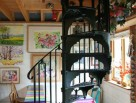 Victorian Spiral Staircases with Plain leading baluster and Plain Infill Panel