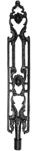 RMJ Ornate iron balusters