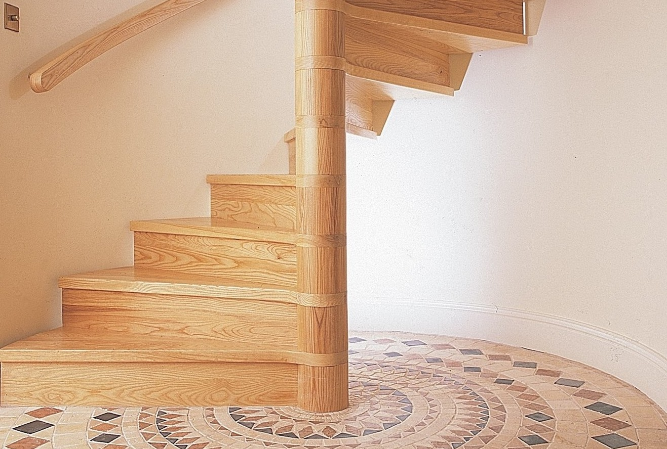 Solid Timber Staircases Spiral