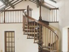 Walnut Spiral Staircase