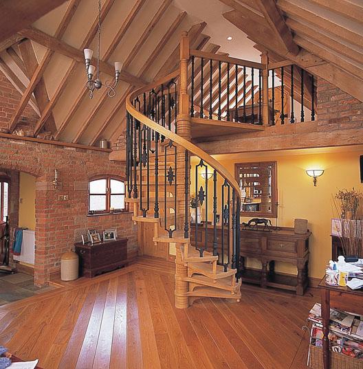 Bespoke Wooden Spiral Staircases British Spirals Amp Castings