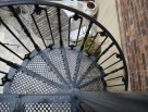 Diamond Pattern Spiral Stair Tread