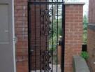 Ornamental steel and Cast Iron Security Door