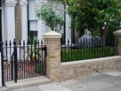 Traditional Cast Iron Railings and Gate