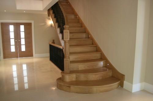 bespoke oak staircase