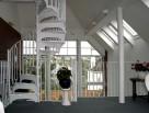 Stunning White Victorian Spiral Staircase