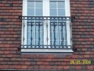 Individually designed Juliet Balcony with Circles and Twisted Bars