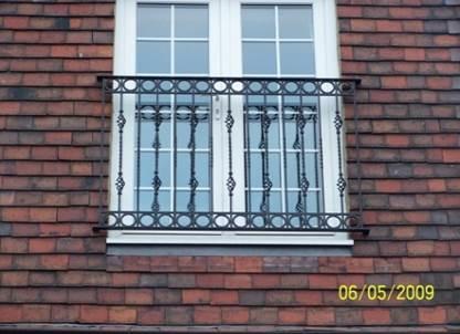 Staircase Regulations Uk >> Bespoke Juliet Balconies - British Sprials & Castings