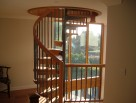 All our spiral staircases are suitable for second floor applications