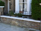 Made to measure wall top railings