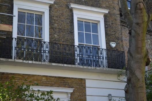 Balcony Railings British Spirals Amp Castings