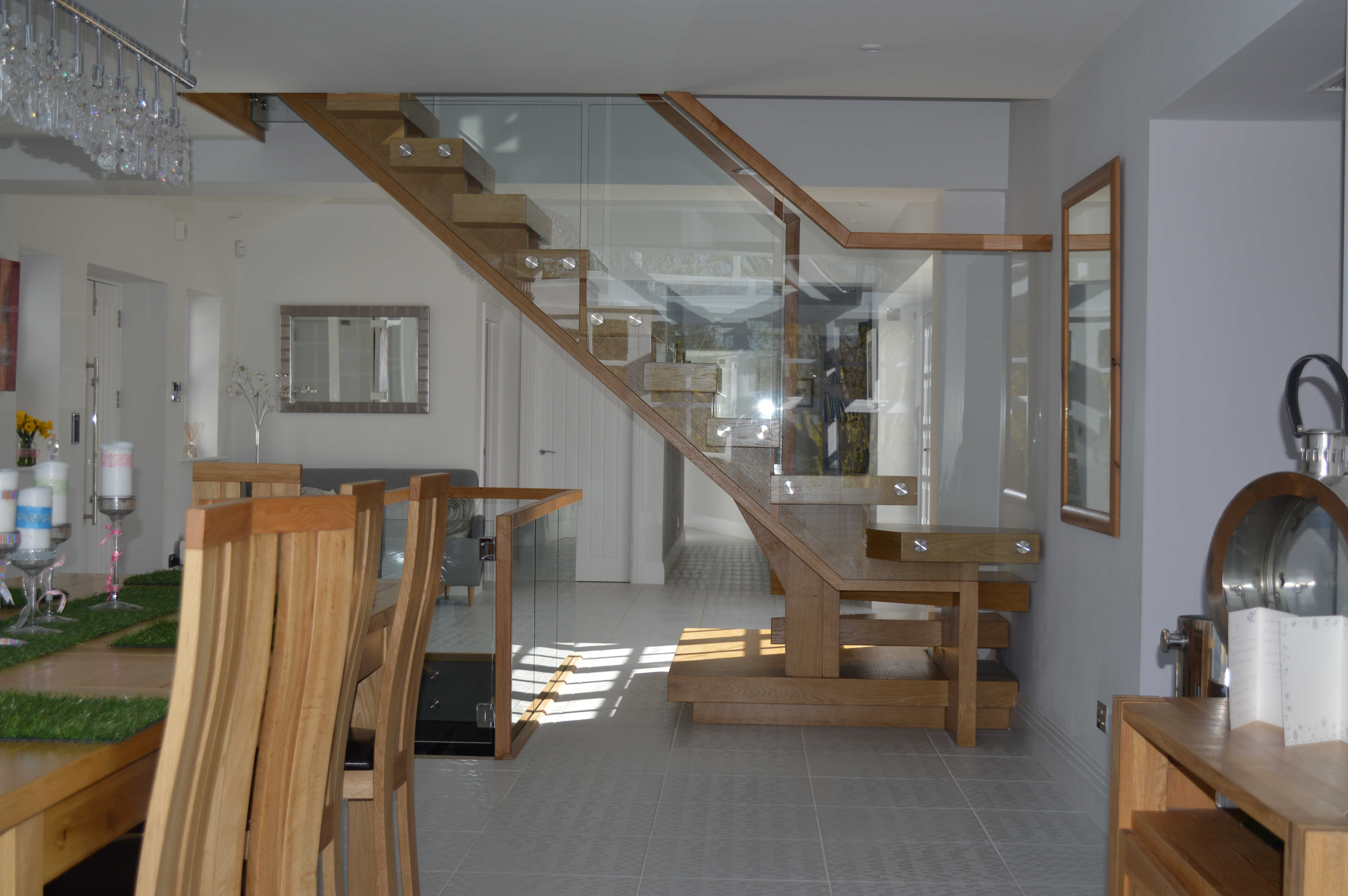 Combination Wooden Staircase
