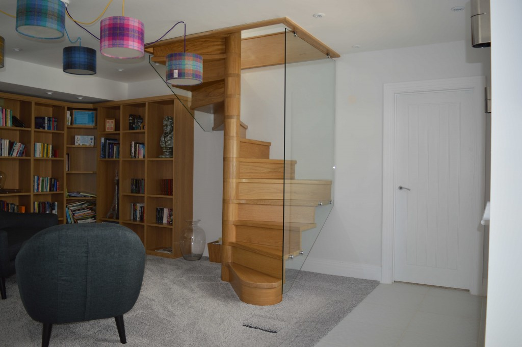 Made to Measure Wooden Spiral Staircase
