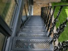 Cast Alumnium Straight Staircase
