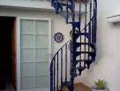 Narrow Victorian Spiral Staircase
