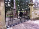 Bowed Double Gates