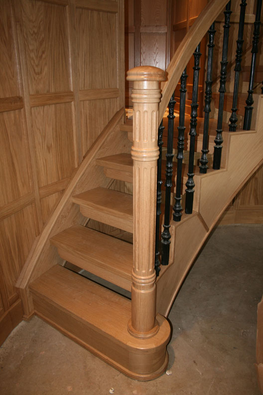 Helical Wooden Staircases British Spirals Amp Castings
