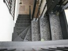 external decorative metal staircase