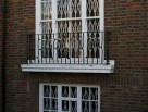 Juliet Balcony using Knotted Balusters