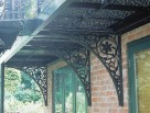 Decorative Gallows Brackets to support our Balconies