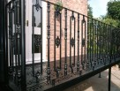 Alternating Victorian and Ornate Infill Balustrading to Victorian Balcony