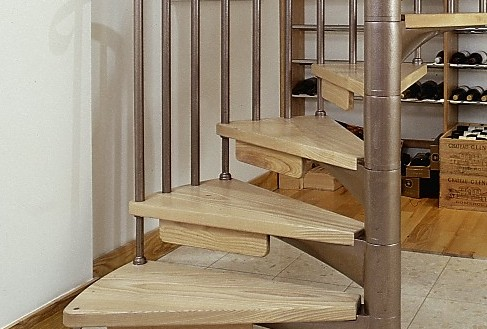 Scandinavian Spiral Staircases