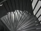 Modern Art Deco Spiral Stair tread