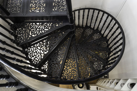 Captivating Victorian Spiral Stairs