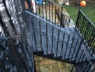 Victorian external staircase