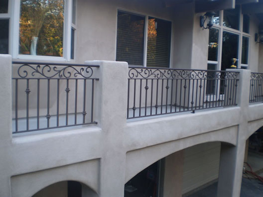 Wrought Iron Railings