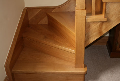 Kited Wooden Staircases