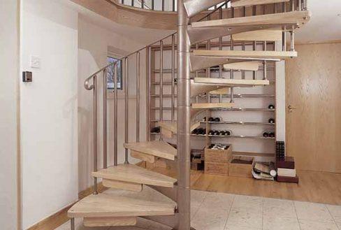 modern scandinavian staircase