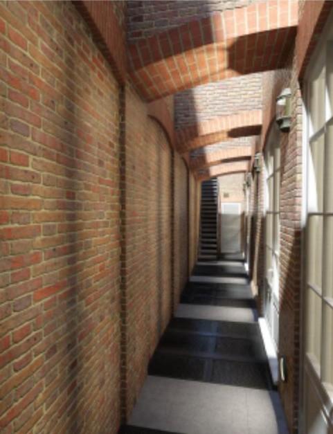 Balcony passageway Cast Aluminium Diamond Decking Plate
