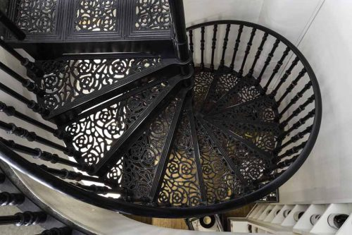 Cast Spiral Staircase