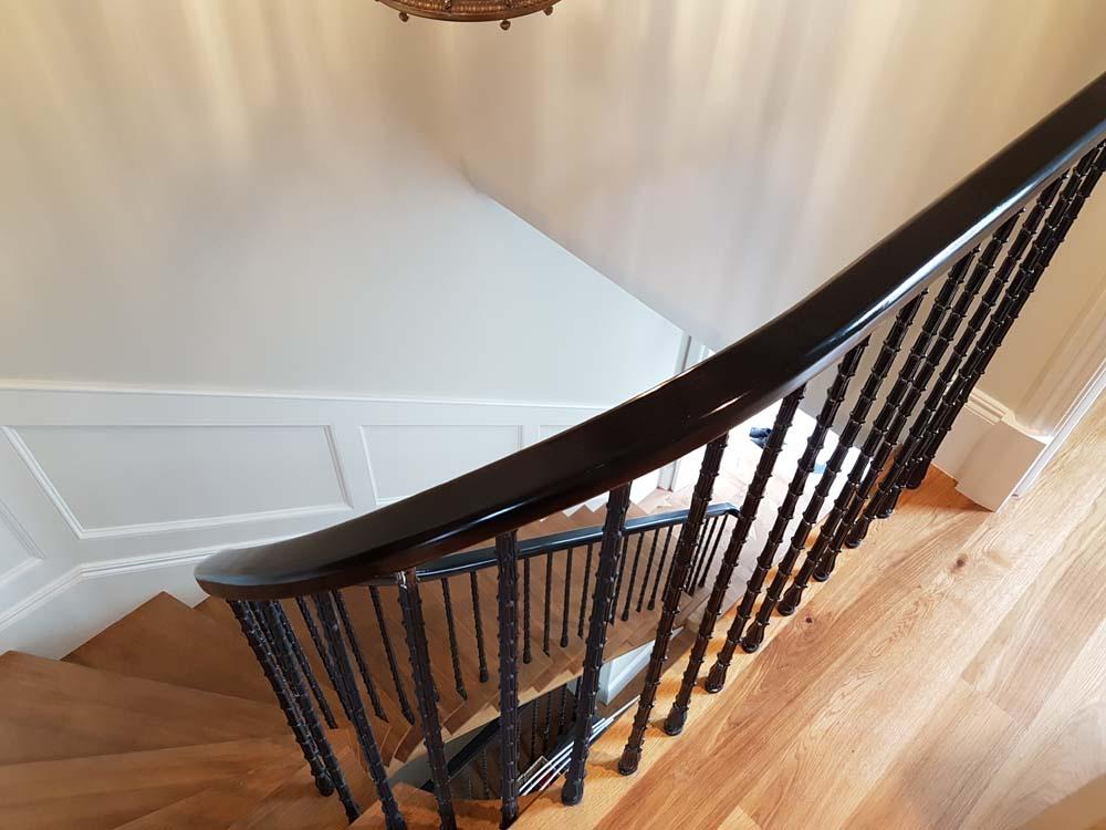 Bespoke Handrail Wood
