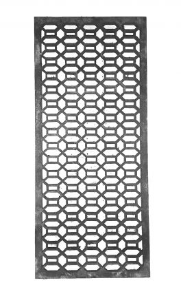 Hexagonal Design Metal Grating BSC12041