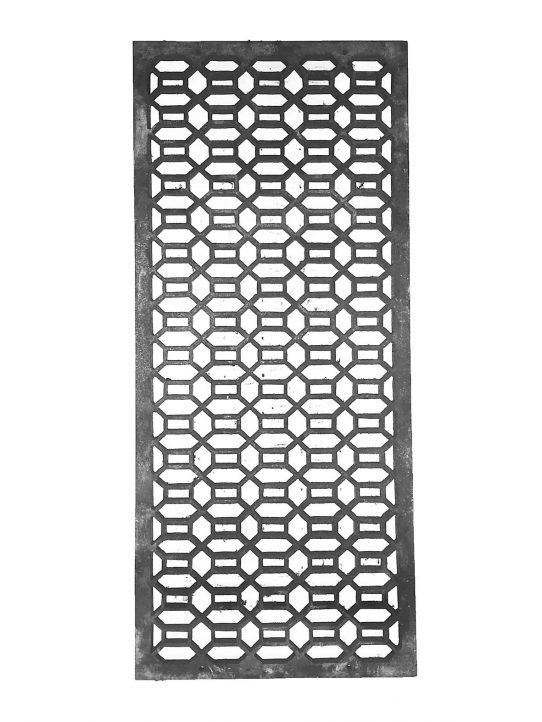 Hexagonal Design Metal Grating BSC12041