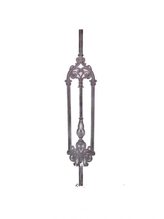 BSC1022 Ornamental Railing Panel1