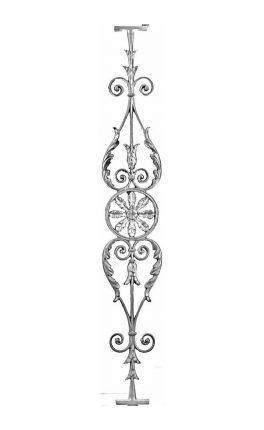 BSC1067 Ornamental Railing Panel
